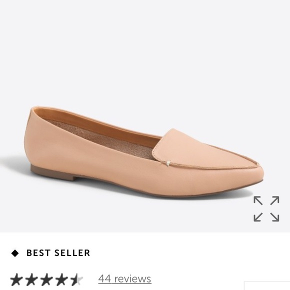 cf33f31311d J. Crew Shoes - J Crew Factory Edie Leather Loafer Sz 9