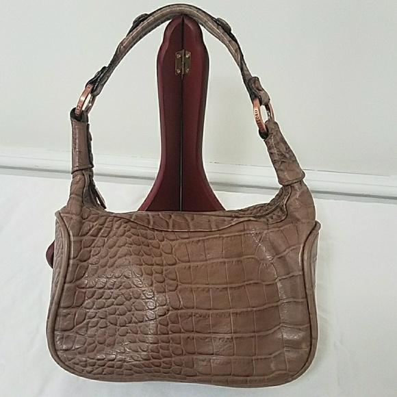 7376b78c05 KESSLORD Paris Croc embossed leather Demi bag. KESSLORD.  M 59d2979dbcd4a7ccd8006c24. M 59d297b46d64bc70bc006ad1.  M 59d297cd6d64bc70bc006b26