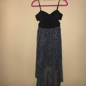 BCBGeneration cut out dress