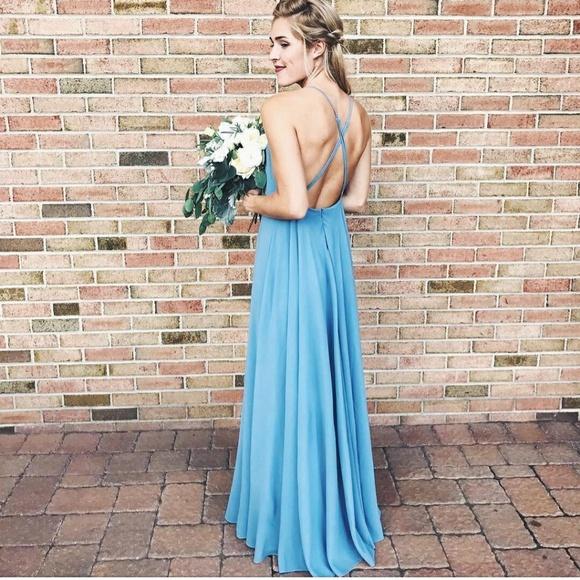 e3dc0c7721 Lulu s Dresses   Skirts - Lulus mythical kind of love slate blue maxi dress