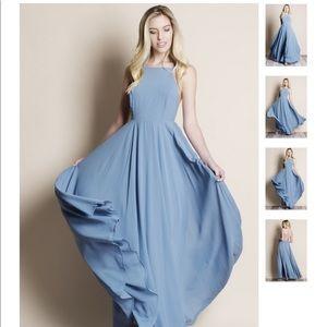 a7eb01ce270 Lulu s Dresses - Lulus mythical kind of love slate blue maxi dress