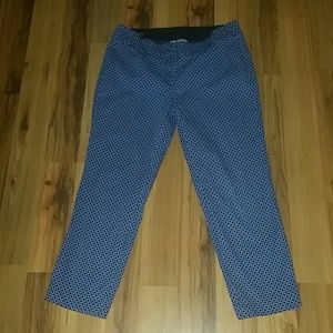 Ann Taylor crop pants.