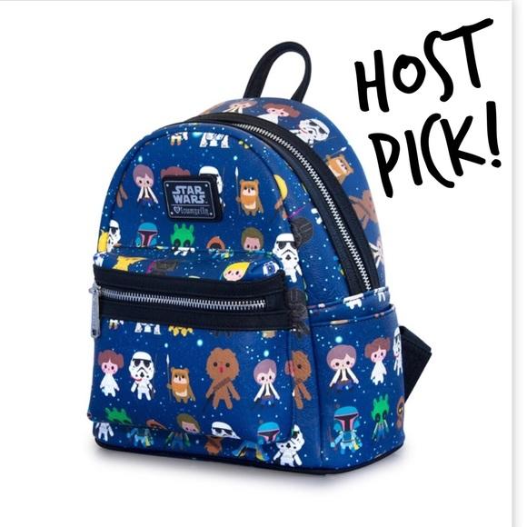 f95ca14951 🍾HOST PICK🎉 NWT Loungefly Star Wars MiniBackpack