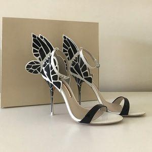 Sophia Webster Chiara monochrome heels