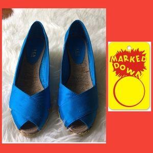 Electric blue Ralph Lauren shoe