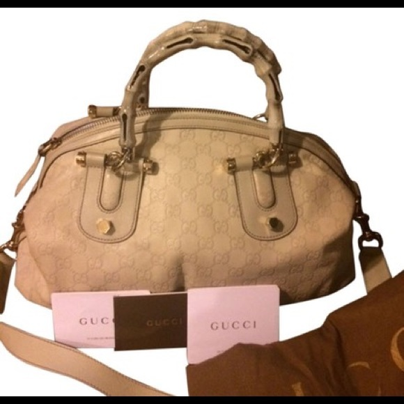 Gucci Handbags - SOLD ON TRADESY 1/1/2018 Gucci Vintage Pop Bamboo
