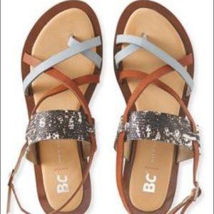 Multi-Color Leather Sandal