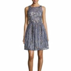 Aidan Mattox lace party dress, new condition