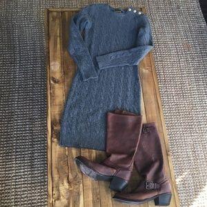 **Ralph Lauren Rugby Sweater Dress**