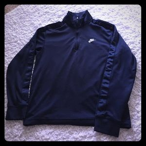 Men's Nike Navy golf Pull Over
