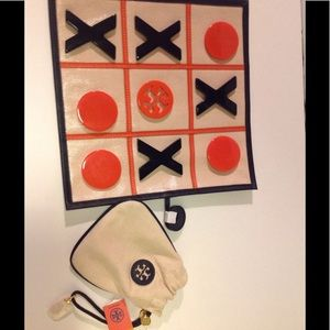 Handbags - Tory Burch pouch and ttt game