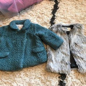 Bundle of coat and vest