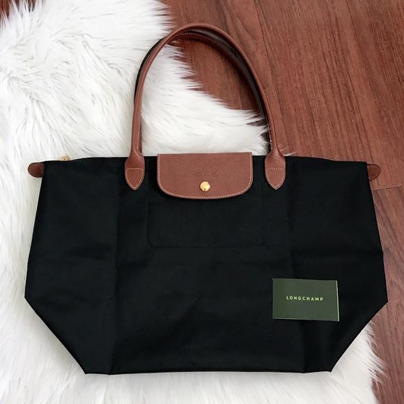 f66568600b56 Auth Longchamp Le Pliage Nylon Shoulder Bag