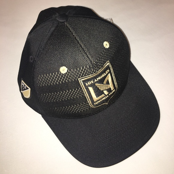 new concept 479cd 25b70 ... uk release date adidas mls los angeles football club fitted cap sm  0d207 68816 b74b0 5bd7d
