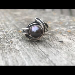 Jewelry - Taxco pearl ring