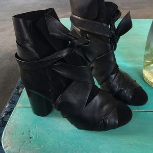 Isabel marant lace up boots
