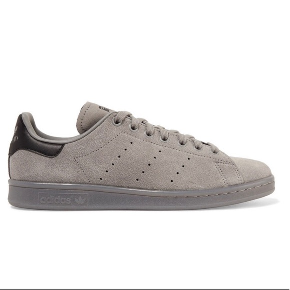 check out fbccc 82535 adidas Shoes - Adidas Stan Smith grey suede rare! 6.5 men 8 women