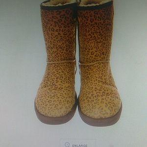 UGG leopard print boots