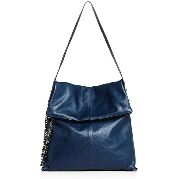 2ec5bacd1907 ⚡SALE⚡Botkier Irving Hobo Handbag in Midnight Blue NWT