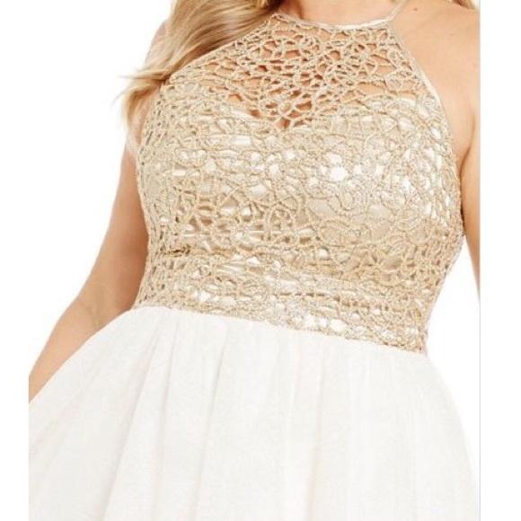 e569c4d10 B Darlin Dresses   Chainlace Bodice Party Dress   Poshmark