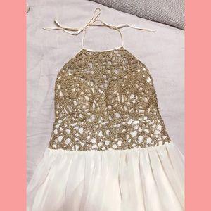 f63ef7c7b B Darlin Dresses - B. Darlin Chain-Lace Bodice Party Dress