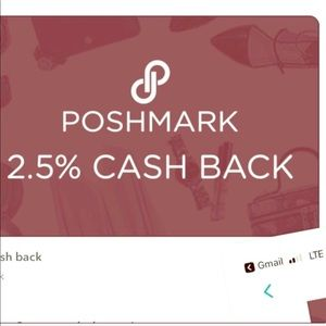 Want to GET 2.5% CASH BACK FROM POSHMARK PURCHASE?