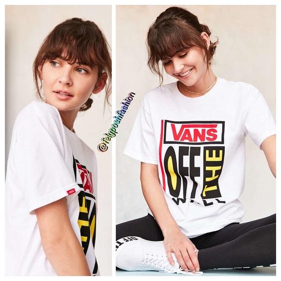 Vans & UO Old Skool Tee NWT
