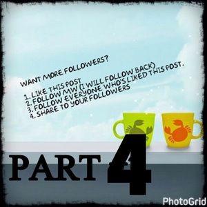 Please Share Follow Me PART4 Gain More Followers