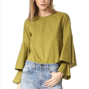 Style mafia bell sleeve top