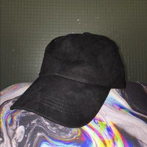 ... Suede Dad Hat (Black) ... 407c3eceab48