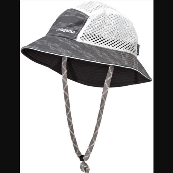 NWOT Patagonia gray duckbill bucket hat 06b07c7c990
