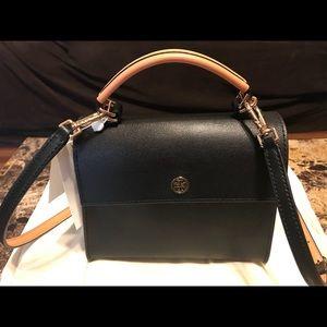 580e2dcdf94f Tory Burch Bags - Tory Burch PARKER COLOR-BLOCK MINI SMALL BAG