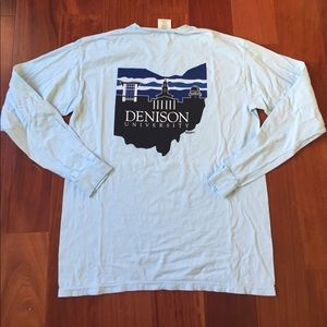 87b6fe93 Shirts | Denison University Mens Long Sleeve Tshirt Top | Poshmark