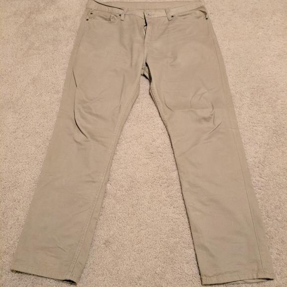 Levi's Other - Levi'a 511 Tan Jeans 38x30