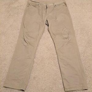 Levi'a 511 Tan Jeans 38x30