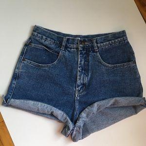 Vintage High Waist shorts EUC