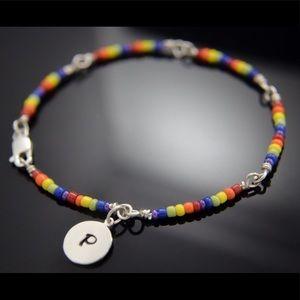 Jewelry - LGBT Pride .925 Sterling Silver Bracelet Support