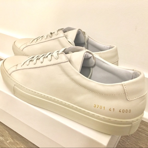 New Common Projects Offwhite Sneakers
