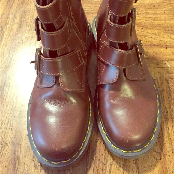 Women's Dr Martens 3 Buckle Blake Boot