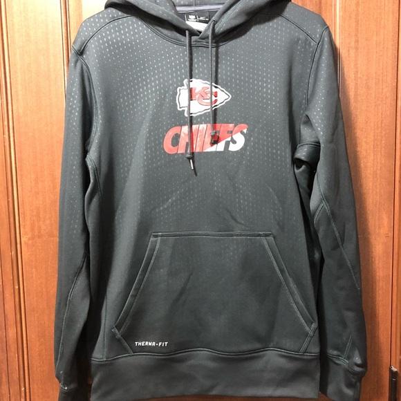 new product e0211 e3026 Nike NFL Chiefs dri-fit hoodie