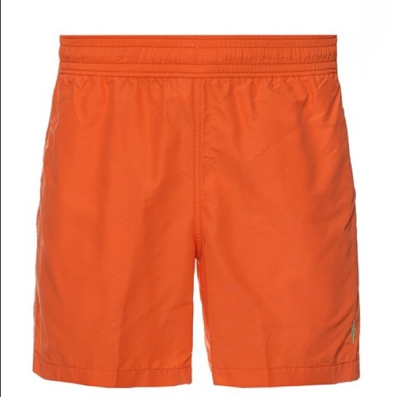 4486087dec Polo by Ralph Lauren Swim | New Polo Ralph Lauren Orange Trunks Size ...