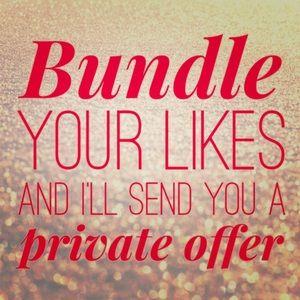 ❤️🌟🛍 Bundle any item(s) & I'll make you offer!🎁