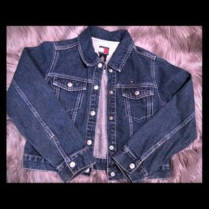 Kids size medium denim jacket