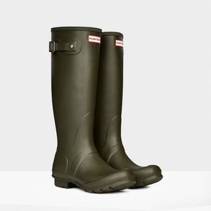 Olive Green Hunter Boots NEW IN BOX
