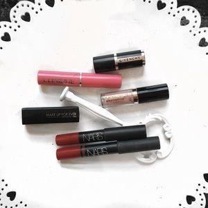 • nars + givenchy + more • luxury lipsticks bundle