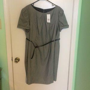 Dorothy Perkins Plus Size Grey Shift Dress - 22