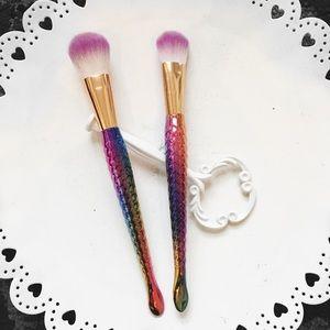 • mermaid brushes • vegan makeup brush bundle