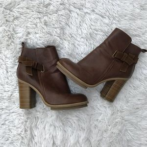 Heeled Ankle Boots size 7.5