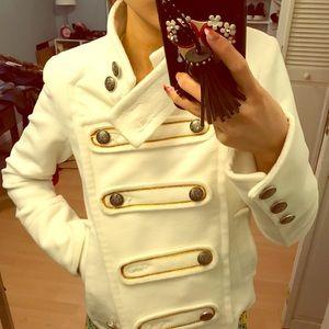 White short coat