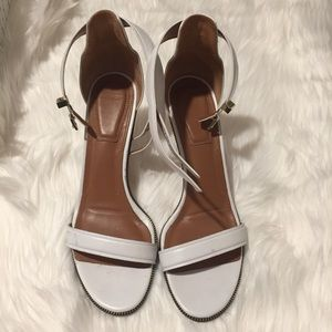 Givenchy white sandals 8.5